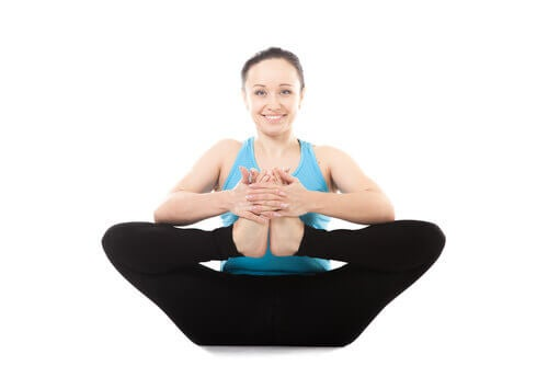yoga posture ankles