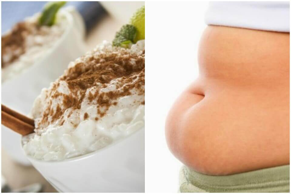 Eat rice pudding and lose weight