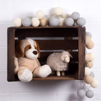 A toy ledge.