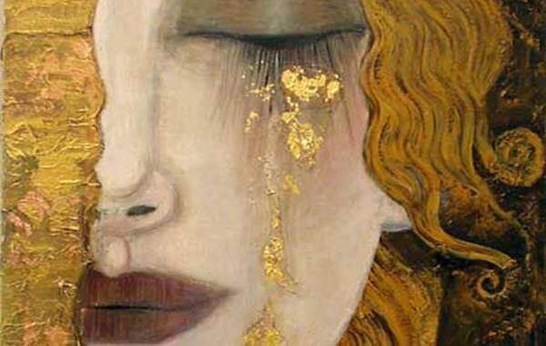 Golden tears.