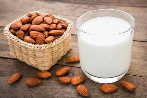 3 almond milk