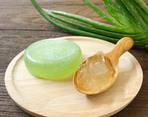 3 aloe soap