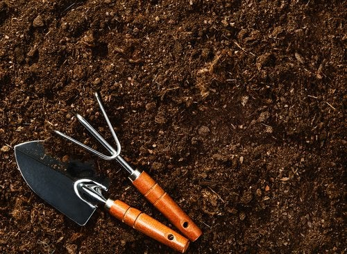 Soil and planting tools.