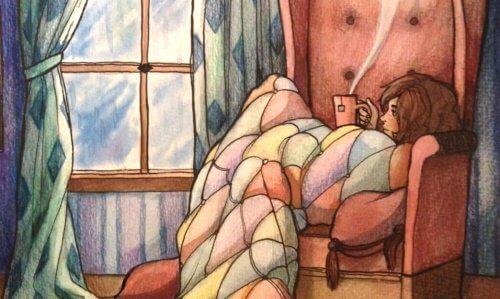 외로움과 함께 혼자가 되는 법 배우기
