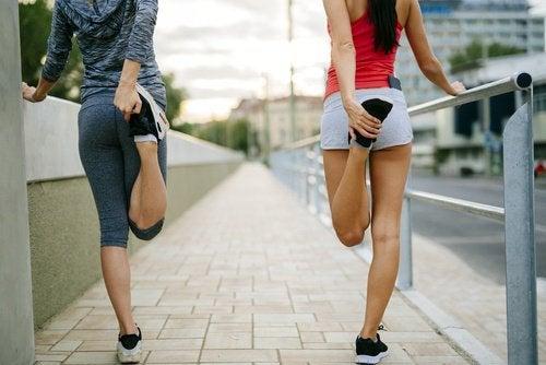 족저근막염의 운동