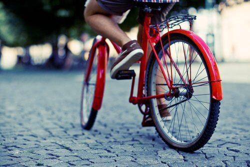 6 biking