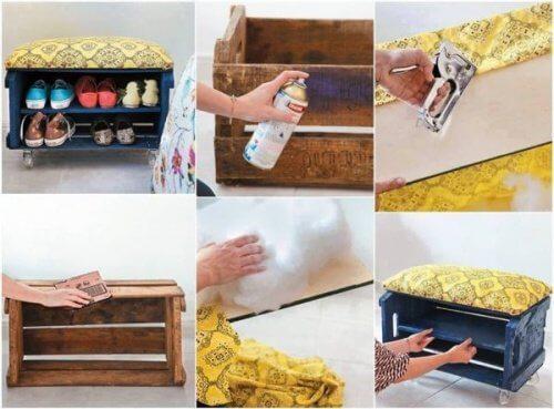 집에서 나무 상자를 재활용할 수 있는 20가지 방법