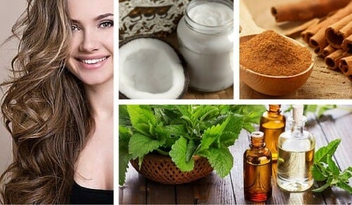 Coconut, Mint, and Cinnamon Remedy to Stimulate Hair Growth