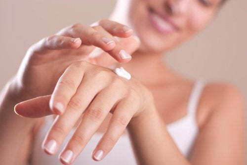 antiwrinkle hand cream