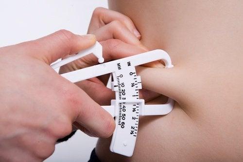 Rasvakudoksen mittaus