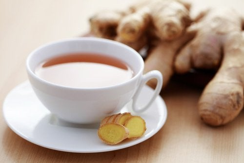 Overcoming fatigue with ginger tea