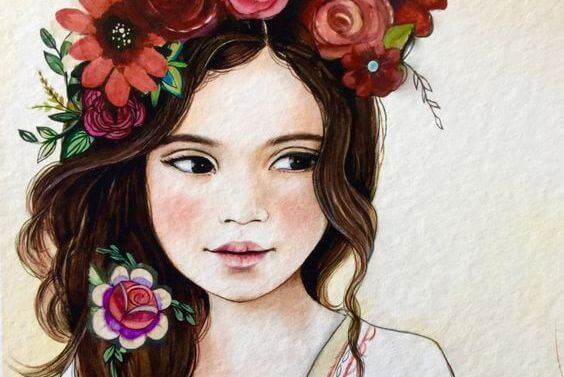 girl-flowers-in-hair