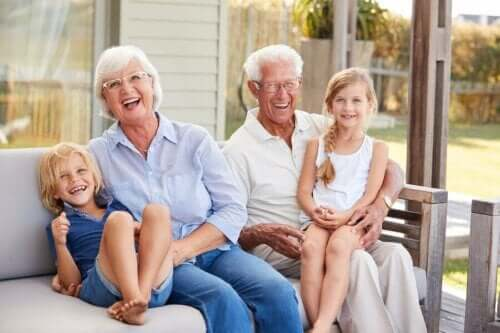 Grandchildren Bring Joy and Happiness to their Grandparents
