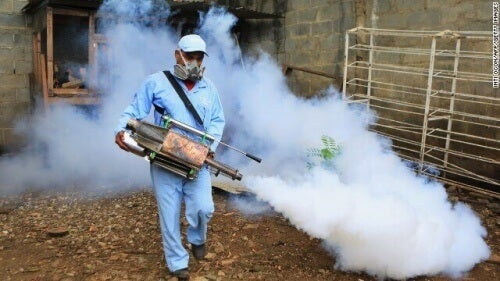 Zika outbreak mosquito control