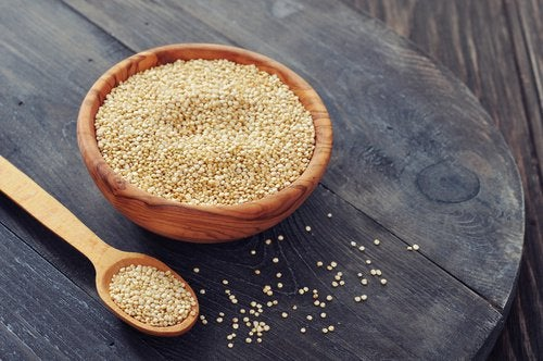 Quinoa to help burn belly fat