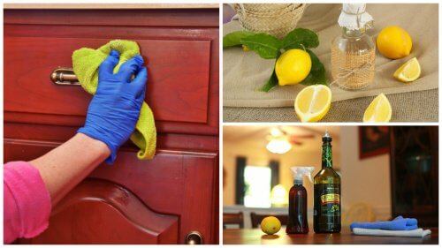 Homemade Cleaning Product to Remove Dust from Furniture
