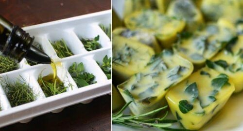 smart way to avoid wasting food such as herbs