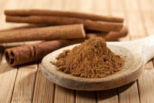 2 ground cinnamon