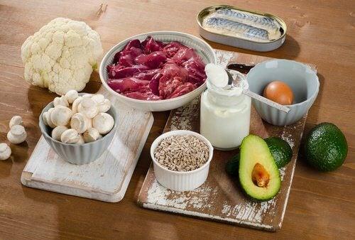 3 b complex foods