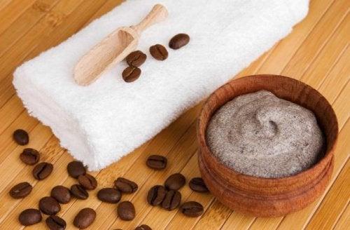 Suonikohju ja hoito kahvista
