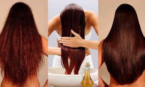 Hiusten kunto
