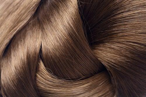 4 silky hair