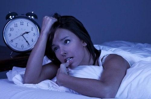 Ahdistus aiheuttaa unettomuutta