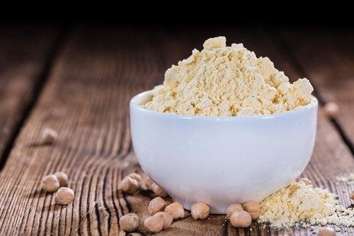 6 garbanzo flour