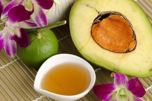 avocado honey cream
