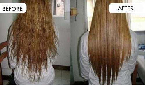 Straighten Hair with Natural Ingredients from Your Kitchen