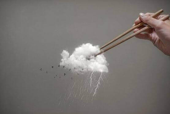thunder cloud chopsticks