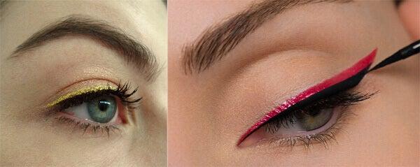 colored eyeliner