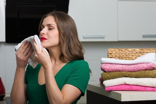 The danger of using fabric softener comes from its smell