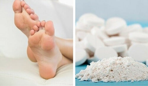 Image result for crushed aspirin for calluses