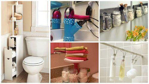 19 Useful Tips to Save Bathroom Space