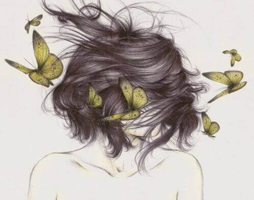 woman-butterflies
