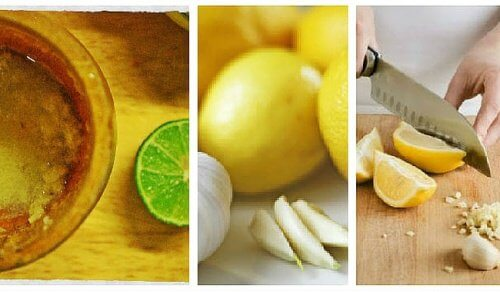 Homemade Garlic and Lemon Remedy for Abdominal Fat