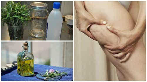 How to Make an Alcohol and Rosemary Treatment for Cellulite