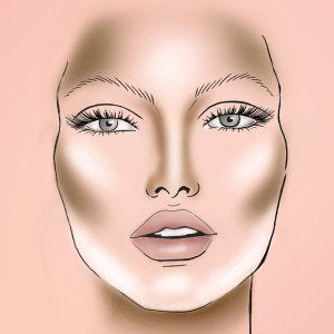 2 slim face makeup