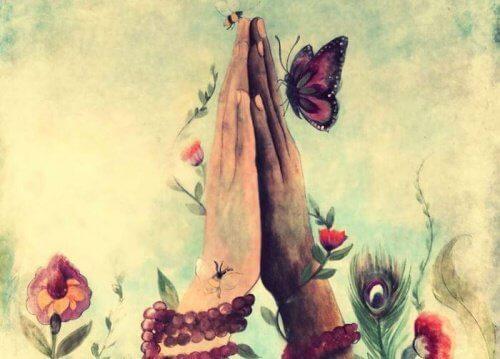 3 butterfly flowers