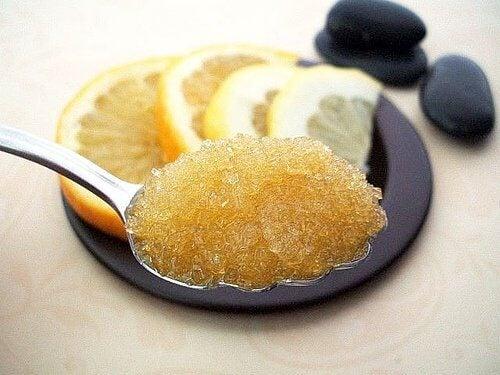 3 honey and lemon
