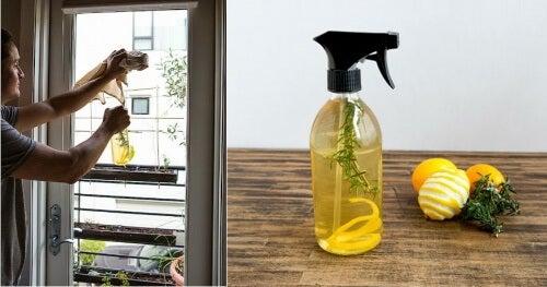 lemon peel air freshener