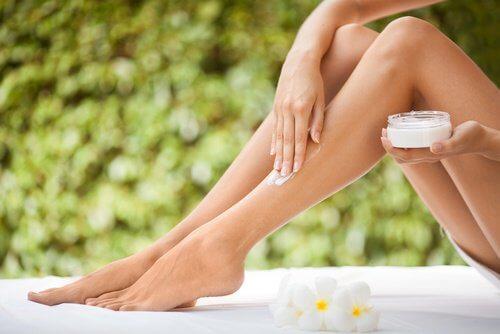 natural leg cream
