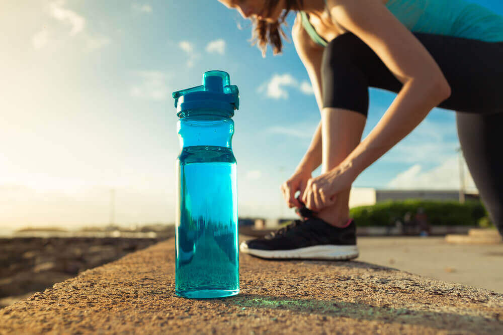 The importance of water and exercise.