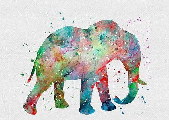 2-painted-elephant