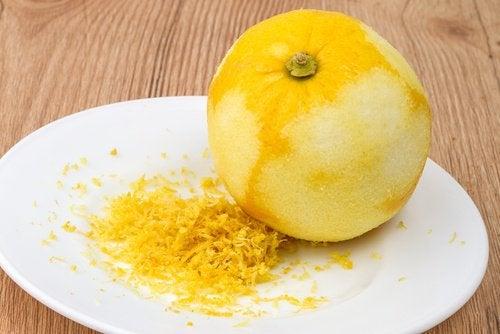 3 lemon zest