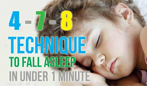 Want to Fall Asleep in Less Than 1 Minute?
