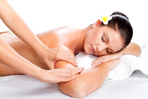 Massage for toned arms