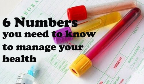 6 numbers you need to know to manage your health