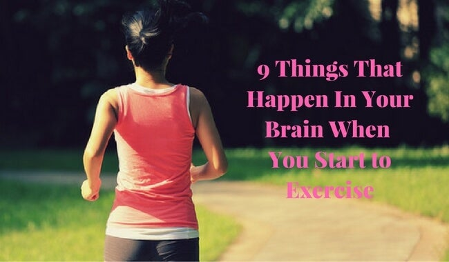 9 Things That Happen In Your Brain When You Exercise